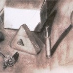Student Work: Charcoal Still Life